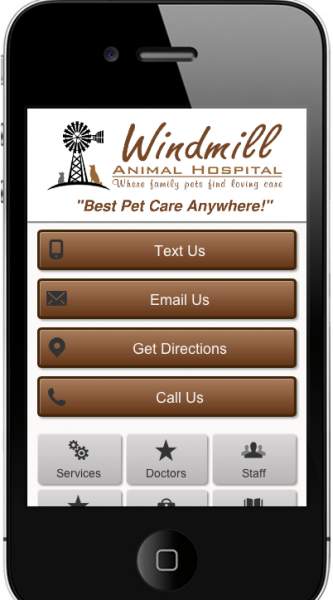 Windmill Mobile Website